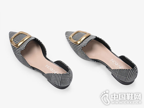 度嘉班妮男女鞋2018中空单鞋