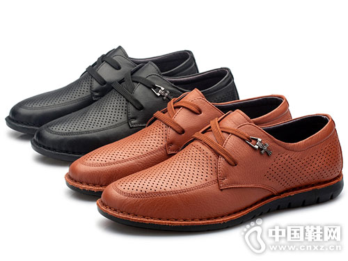 红草帽男女皮鞋2018休闲单鞋
