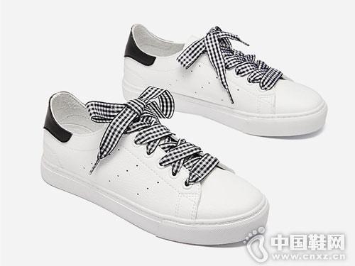 西遇男女鞋2018新款女鞋小白鞋