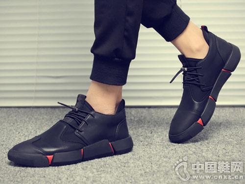 伟森男鞋2018新款休闲运动鞋