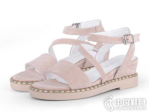 洛曼琪女鞋2018新款休闲凉鞋