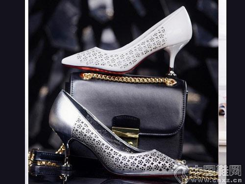 摩熙米昵女鞋2018新款高跟鞋