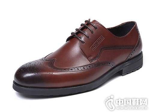 红科男鞋2018新款皮鞋