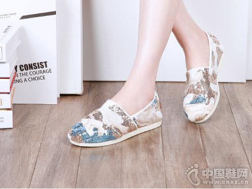 快乐玛丽休闲布鞋2018新款