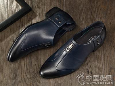 卡丹路男鞋2018新款时尚皮鞋