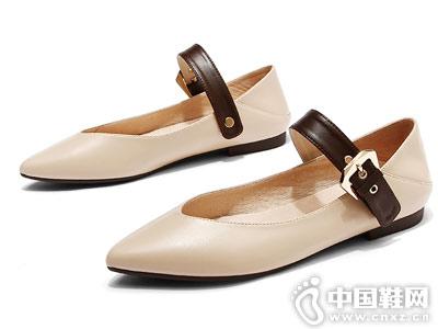 贝妃尼女鞋2018新款平底单鞋