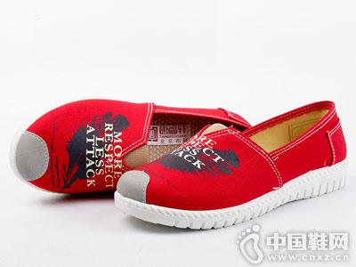 唐福轩帆布鞋2018新款布鞋