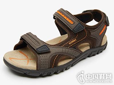 GEOX健乐士休闲鞋2018新款凉鞋