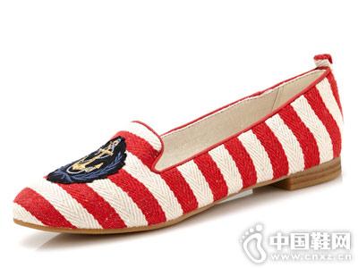 巨一女鞋2018新款浅口单鞋