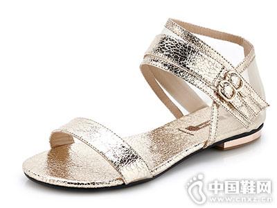 巨一女鞋2018新款休闲凉鞋