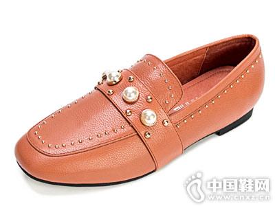 丝迪芬妮女鞋2018新款浅口单鞋