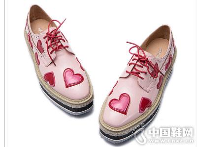丝迪芬妮女鞋2018新款厚底单鞋