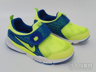 酷乐熊童鞋新款镂空运动鞋
