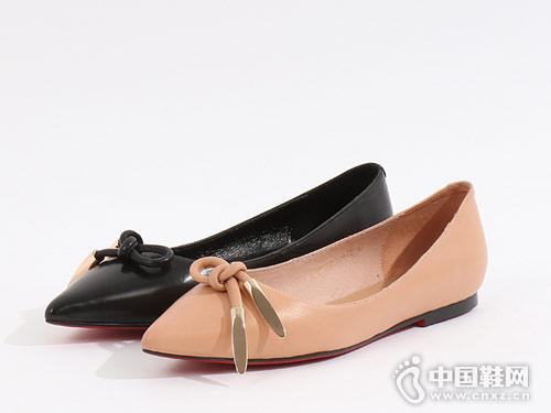易美特卖女鞋2018新款平底单鞋