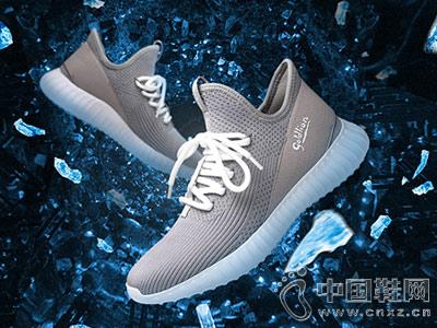 金利来皮鞋2018新款休闲运动鞋