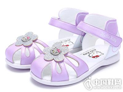 凯蒂猫童鞋2018新款女童凉鞋