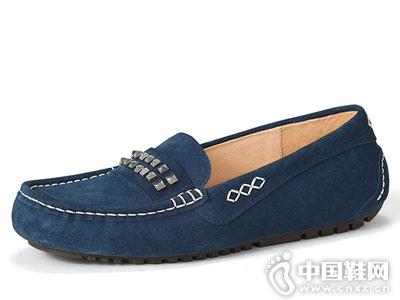 OZZEG休闲鞋2018新款豆豆鞋