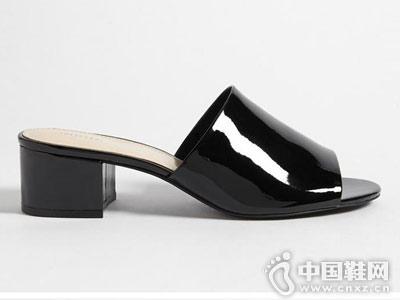 Forever 21女鞋2018新款低跟凉鞋