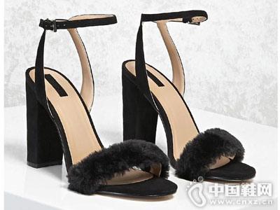 Forever 21女鞋2018新款高跟凉鞋