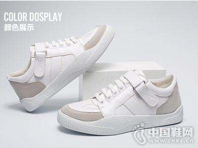 想川男鞋2018新款休闲小白鞋