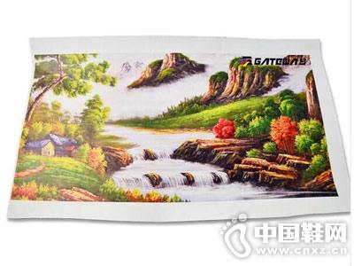 东莞基汇实业鞋材皮革打印样品图