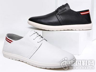 波士威尔男鞋2018新款休闲鞋
