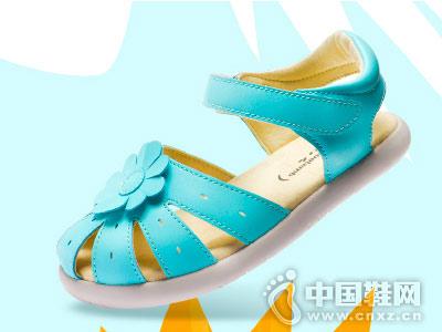 小蓝羊童鞋2018新款童凉鞋