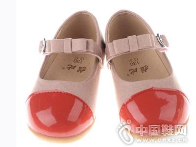 拉比童鞋2018新款女童皮鞋