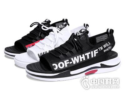 OKKO男鞋2018新款运动凉鞋