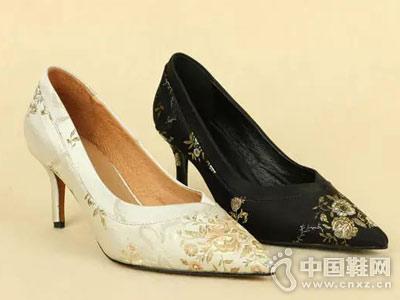 丹比奴时尚女鞋18年秋季新款高跟鞋