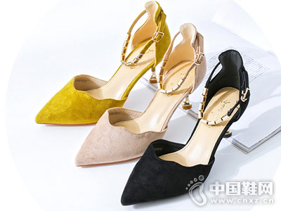 卓诗尼女鞋2018新款凉鞋
