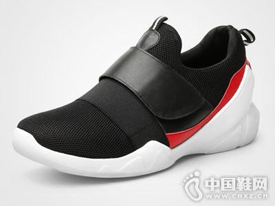 何金昌内增高男鞋2018新款运动鞋