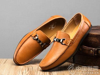 公羊BECK男鞋2018新款休闲皮鞋