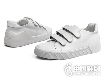 FED男鞋2018秋季新品小白鞋