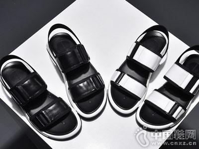 马克华菲2018新款凉鞋