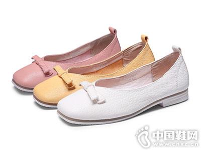 波尔帝奇女鞋2018新款平底鞋