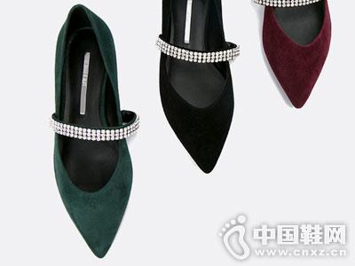C.BANNER千百度2018秋新品高跟鞋