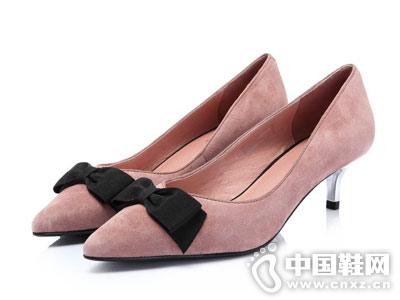 Senda森达2018秋季新款猫跟鞋
