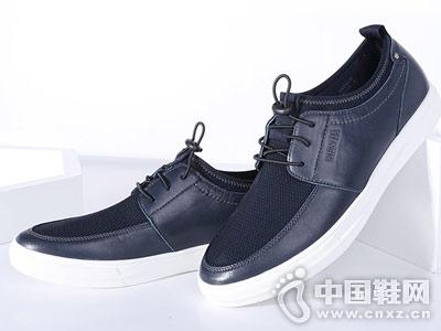 Senda森达2018新款韩版男休闲鞋