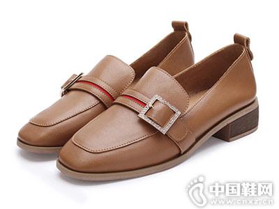 毅雅女鞋2018新款小皮鞋