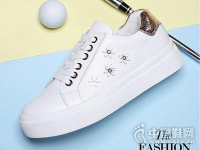 古奇天伦2018新款女小白鞋