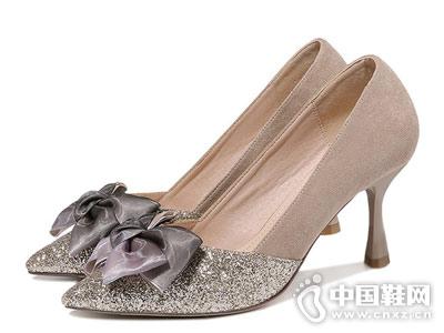 古奇天伦2018新款女时装高跟鞋