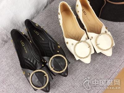 三雄麒女鞋2018新款平底鞋