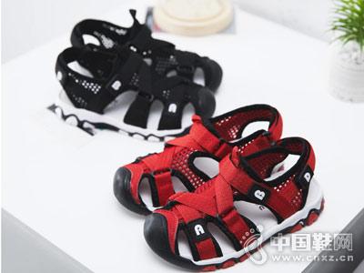 酷奇2018新款潮男中空凉鞋