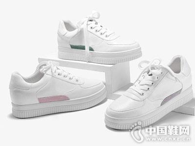 色非女鞋2018秋季新款小白鞋