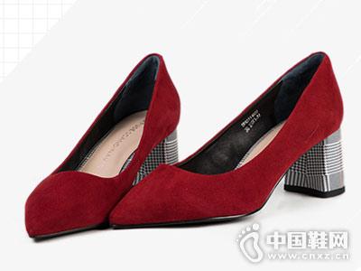 D:Fuse迪芙斯粗跟高跟鞋