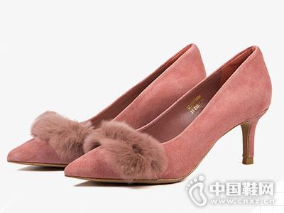 D:Fuse迪芙斯高跟鞋2018新款