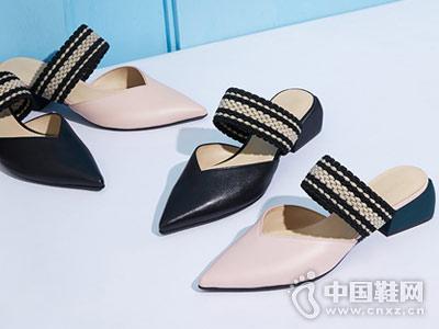 哥弟GIRDEAR女鞋2018新款单鞋