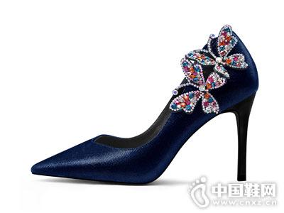 贝蒂佩琪蝴蝶高跟鞋
