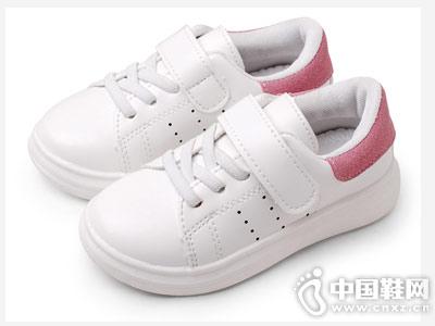 卡卡树儿童小白鞋新款